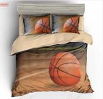A Basketball Gift For Sport Lovers Printed Bedding Set Bedroom Decor