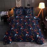 Butterfly Floral Smile Bedding Set Bedroom Decor