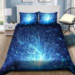 Blue Bokeh Magic Bedding Set Bedroom Decor