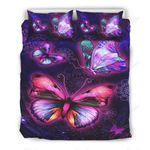Beautiful Butterfly Printed Bedding Set Bedroom Decor