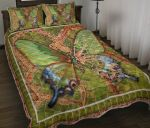 Butterfly Mosaic Pattern Bedding Set Bedroom Decor