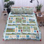 Camping Summer Printed Bedding Set Bedroom Decor