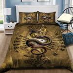 Dragon Tai Chi Printed Bedding Set Bedroom Decor