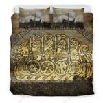 Drakkar Warrior Viking Bedding Set Bedroom Decor