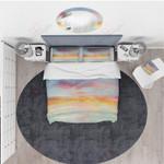 Clouds Colour Marble  Bedding Set Bedroom Decor