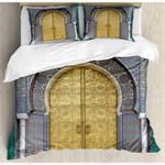 Antique Doors Printed Bedding Set Bedroom Decor