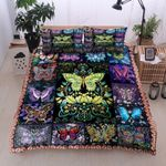 Butterfly In Memory Printed Bedding Set Bedroom Decor