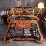 Basketball Let's Go Play Printed Bedding Set Bedroom Decor