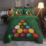 Colorful Snooker Printed Bedding Set Bedroom Decor