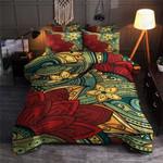 Flower Paisley Mandala Design Printed Bedding Set Bedroom Decor