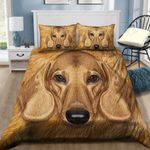 Dachshund Dog Lover Printed Bedding Set Bedroom Decor