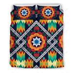 African Kente Printed Bedding Set Bedroom Decor