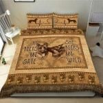 German Couple Beige 3D Bedding Set Bedroom Decor