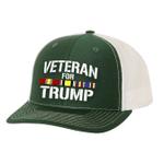Iraq Veteran For Trump Election 2020 Hat Baseball Cap