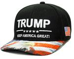 Patriotic Trump Keep America Great With Bald Eagle Black Election 2020 Hat Baseball Cap