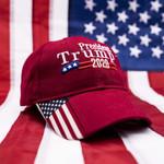 Trump 2020 USA Flag Election 2020 Hat Baseball Cap