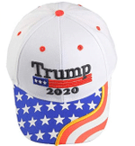 Trump 2020 Hat With American Flag White Election 2020 Hat Baseball Cap