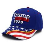 Blue Trump 2020 American Flag Election 2020 Hat Baseball Cap