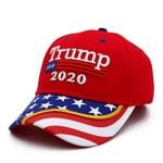 Red Trump 2020 American Flag Election 2020 Hat Baseball Cap