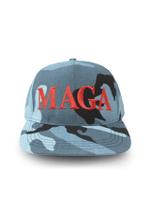 Blue Camo MAGA Election 2020 Hat Baseball Cap