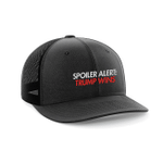 Spoiler Alert Trump Wins Embroidered Trucker Election 2020 Hat Baseball Cap