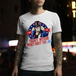 There's Nothing Smart About You Joe Uncle Sam Donald Trump Debate Election 2020 T-Shirt