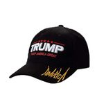 Black Hat And White 2020 Flag Trump Support Election 2020 Baseball Cap