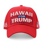 Hawaii For Trump Red Election 2020 Hat Baseball Cap