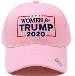 Women For Trump 2020 Light Pink Election 2020 Hat Baseball Cap