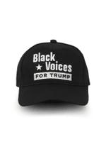 Black Voices For Trump Election 2020 Hat Baseball Cap