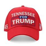 Tennessee For Trump Red Election 2020 Hat Baseball Cap
