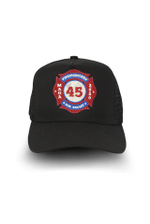 Firefighters For Trump Black Election 2020 Hat Baseball Cap