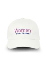 Women For Trump White Election 2020 Hat Baseball Cap