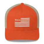 MAGA Trucker Orange Election 2020 Hat Baseball Cap
