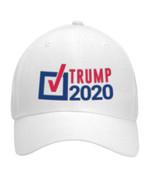 Vote Trump 2020 White Election 2020 Hat Baseball Cap
