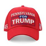 Pennsylvania For Trump Red Election 2020 Hat Baseball Cap