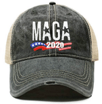Trump Maga Trucker Charcoal Election 2020 Hat Baseball Cap
