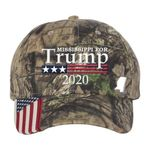 Mississippi For Trump Camo Election 2020 Hat Baseball Cap