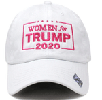 Women For Trump Pink And White Election 2020 Hat Baseball Cap