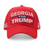 Georgia For Trump Red Election 2020 Hat Baseball Cap