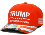 Patriotic Trump KAG Orange Election 2020 Hat Baseball Cap