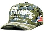 Patriotic Trump KAG Camo Election 2020 Hat Baseball Cap