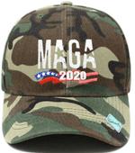 MAGA 2020 Wood Camo Election 2020 Hat Baseball Cap