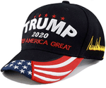 Vote For Trump KAG Black  Election 2020 Hat Baseball Cap