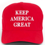 Trump Replica Keep America Great Red Election 2020 Hat Baseball Cap