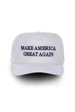 Official Donald J Trump Make America Great Again White Election 2020 Hat Baseball Cap