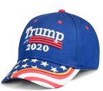 Trump American Flag Blue Election 2020 Hat Baseball Cap