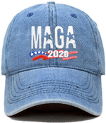 MAGA 2020 Light Denim Election 2020 Hat Baseball Cap