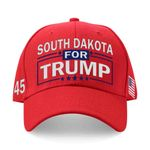 South Dakota For Trump Red Election 2020 Hat Baseball Cap