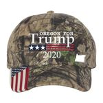 Oregon For Trump Camo Election 2020 Hat Baseball Cap